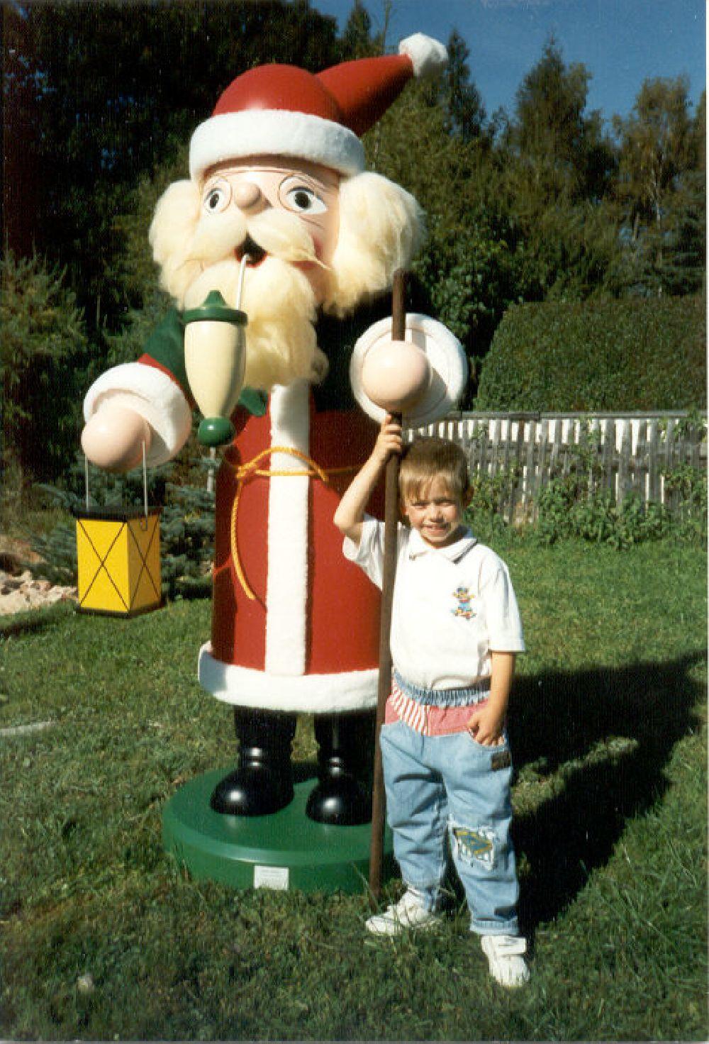 7 Räuchermann Weihnachtsmann 180 cm