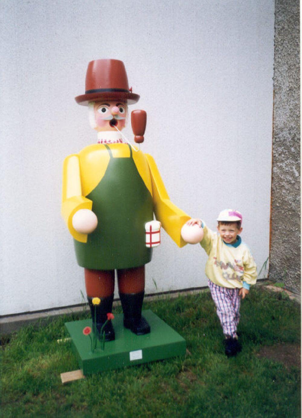 33 Räuchermann Gärtner 180 cm