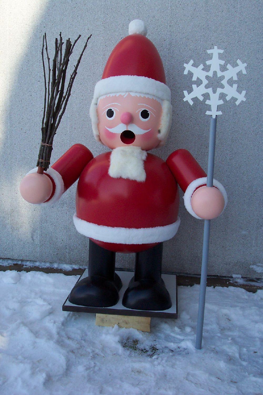 41 Räuchermann Weihnachtsmann 140 cm