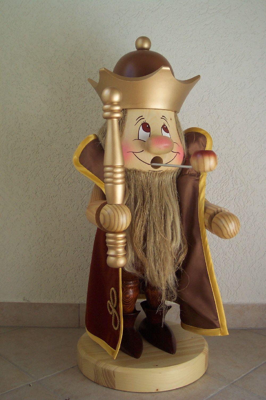 47 Räuchermann König 80 cm