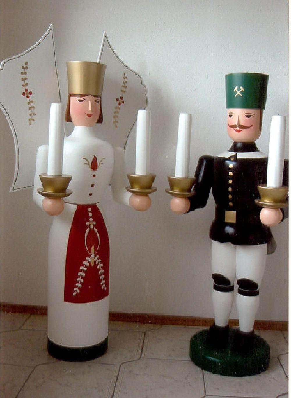 4 Bergmann und Engel 130 cm
