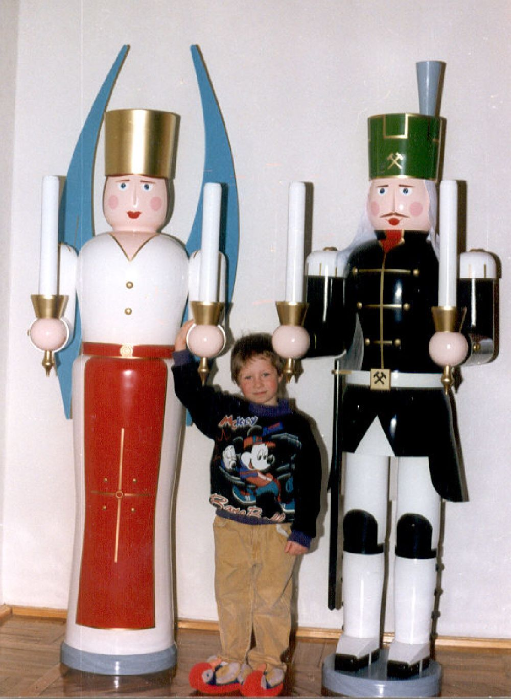 5 Engel und Bergmann 170 cm