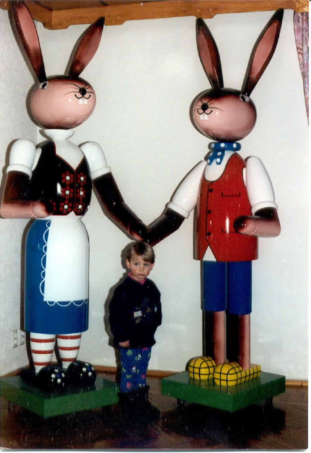 3 Osterhasenpaar 180 cm