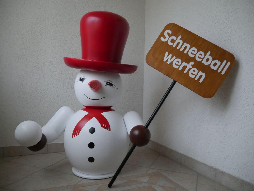 1 Schneemann 100cm