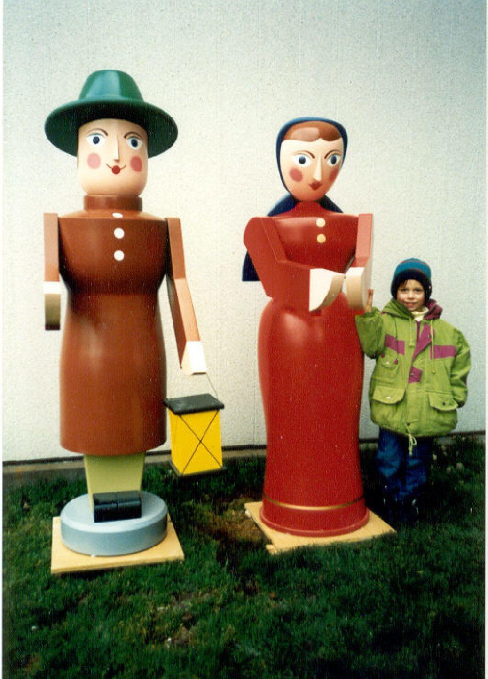 2 Maria und Joseph 170 cm