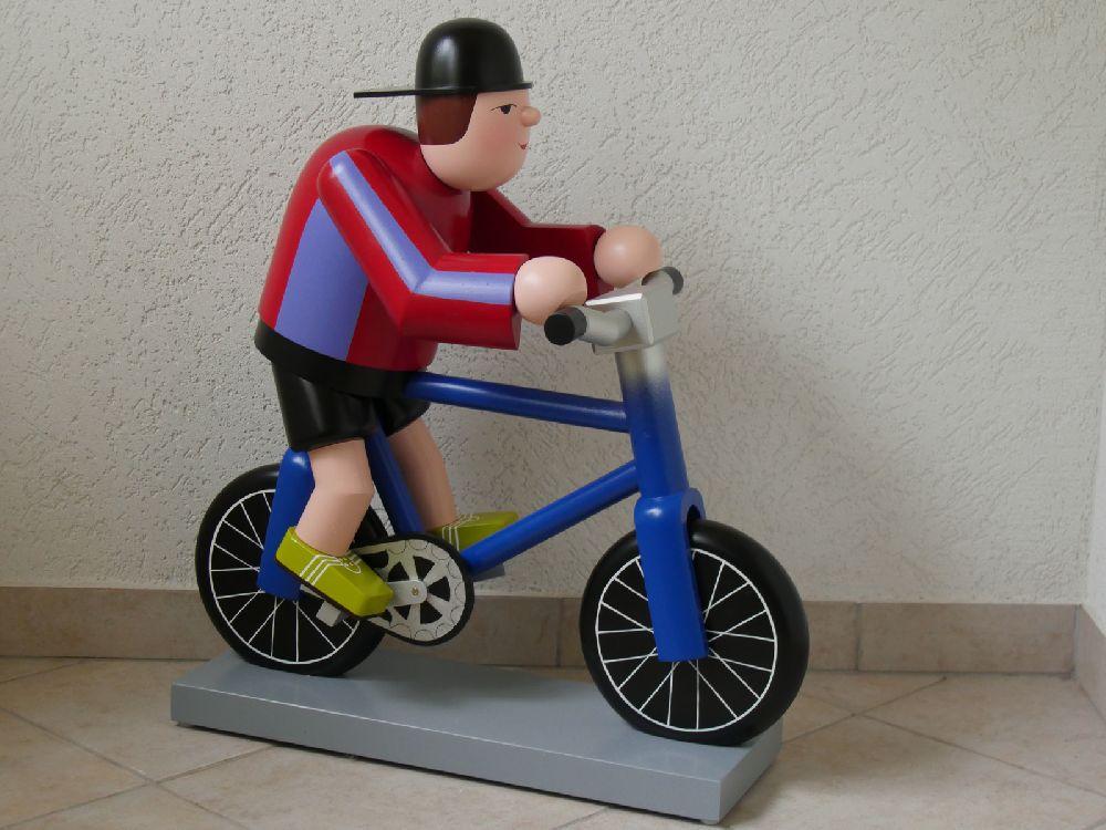 36 Fahrradfahrer 70 cm